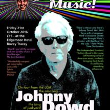 Johnny Dowd smaller poster